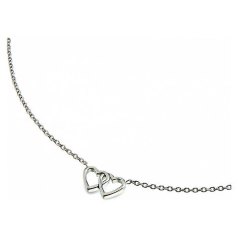 Boccia Titanium Srdíčkový titanový náhrdelník 08023-01