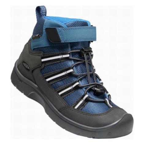 KEEN HIKEPORT 2 SPORT MID WP Y Dětská celoroční obuv 10007781KEN01 majolica/sky diver