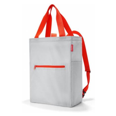 Batoh a taška Reisenthel Mini Maxi 2v1 světle šedý
