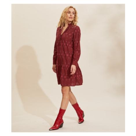 Šaty Odd Molly Célia Dress - Červená