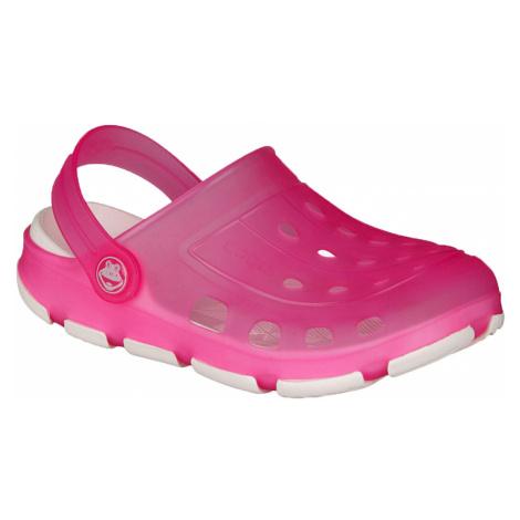 COQUI JUMPER FLUO Dětské sandály 6363-293 fuchsia/white