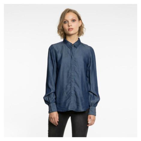 Tmave modrá džínová košile – Vialena Vila