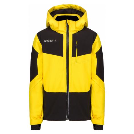 Lyžařská bunda Descente BECKETT JUNIOR Żółty|tmavomodrá