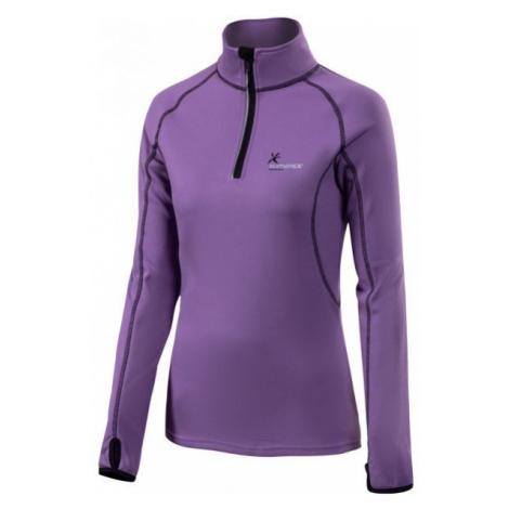 Klimatex DENISE fialová - Dámský outdoorový pulovr