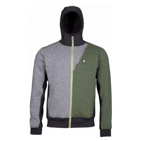 Mikina High Point Woolcan 4.0 Hoody grey/fall green