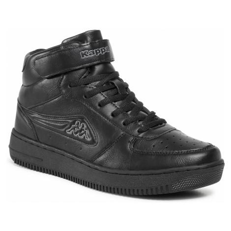 Sneakersy KAPPA - Bash Mid 242610 Black/Grey 1116