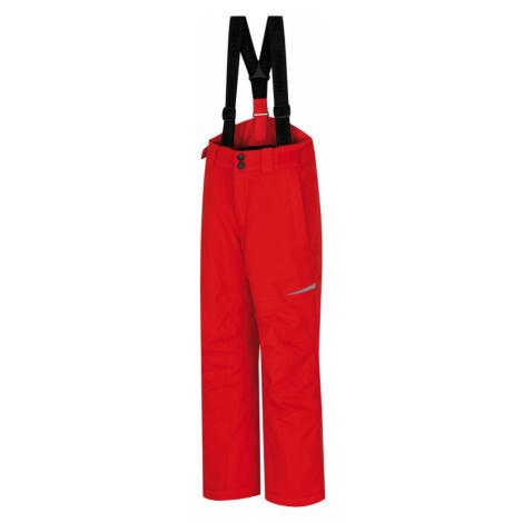 HANNAH KAROK JR Dětské lyžařské kalhoty 10007356HHX01 high risk red