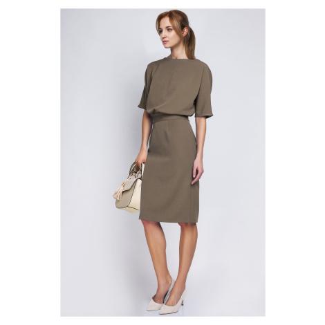 Dámské neformální šaty sportovně elegantní s pouzdrovou sukní