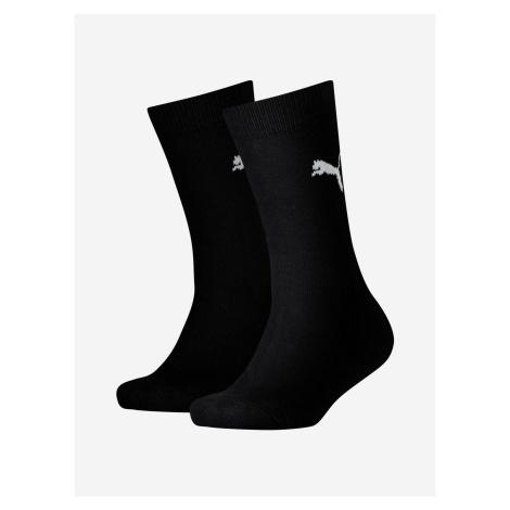 Ponožky Puma Easy Rider Jr 2 Pack Černá