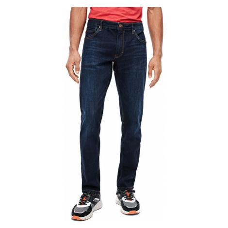 s.Oliver Pánské straight fit džíny 03.899.71.5292.57Z5 Denim Blue Black 31/34