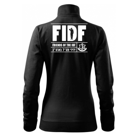 Friends Of the IDF (FIDF) - Mikina dámská Viva bez kapuce