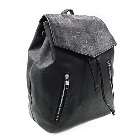 Černý elegantní batoh Renee New Berry