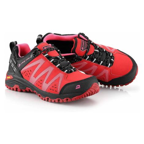 Outdoorová UNI obuv Alpine Pro CHEFORNAK 2 - červená