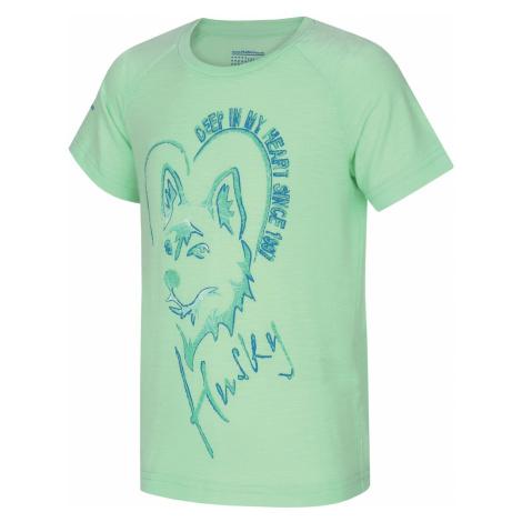 Husky Zingl Kids, sv. mátová Dětské triko
