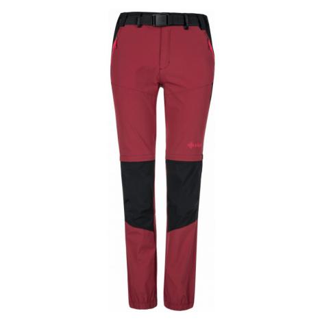 Kilpi Dámské outdoorové kalhoty Hosio tmavě červená