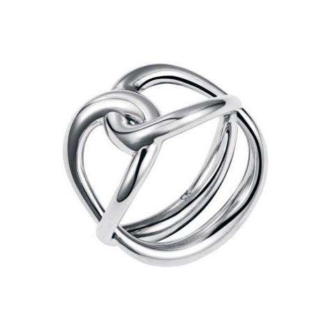 Calvin Klein Ocelový prsten Enlace KJ44BR0101