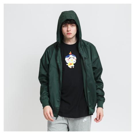 Nike M NSW SPE Woven LND Windrunner Hooded Jacket tmavě zelená