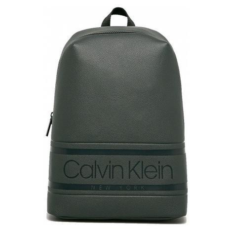 Calvin Klein Calvin Klein pánský tmavě šedý batoh STRIPED LOGO
