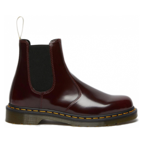 Dr. Martens 100% Vegan 2976 Chelsea Boots bordová DM21802600 Dr Martens