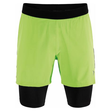 Outhorn Pánské kraťasy Fitness SKMF604HOL18GRN Zelená