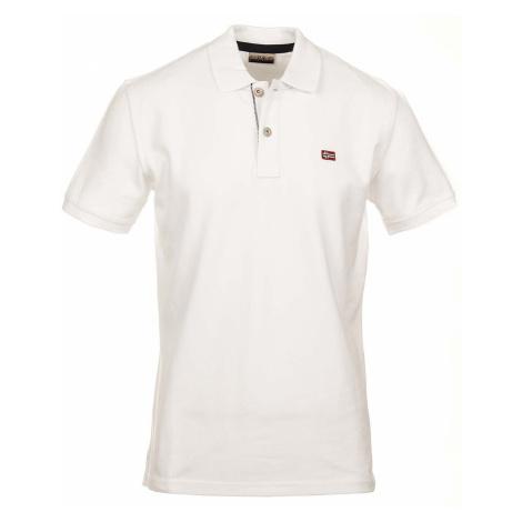 Napapijri pánské polo tričko bílé NA179