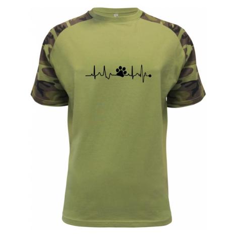 Ekg psí tlapka - Raglan Military