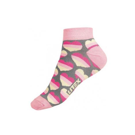 Designové ponožky nízké Litex 9A004 | šedá