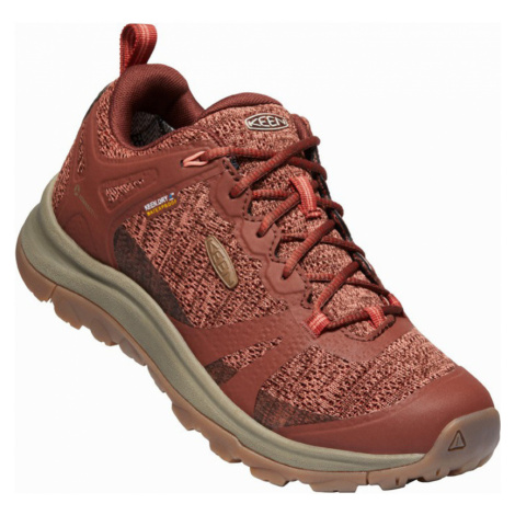 KEEN TERRADORA II WP W Dámská outdoorová obuv 10012263KEN01 cherry mahogany/coral