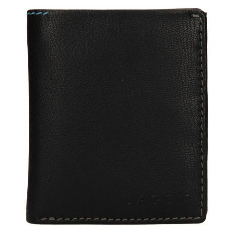 Pánská kožená peněženka Lagen Patrik - černá