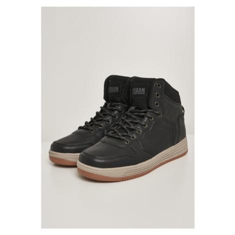 High Top Winter Sneaker - black