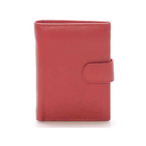 Delami Pánská kožená červená peněženka - 8703 Červená