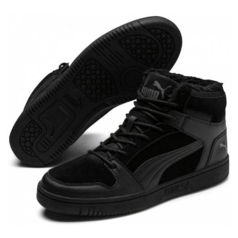 Puma REBOUND LAYUP SD FUR černá - Pánská volnočasová obuv
