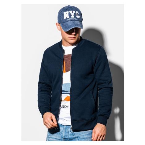 Ombre Clothing Men's zip-up sweatshirt B1077