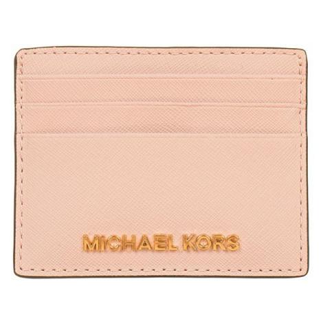 Michael Kors pouzdro na platební karty světle růžové