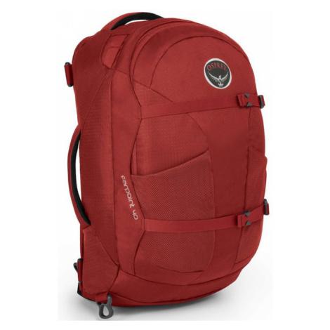 OSPREY Farpoint 40 Cestovní taška 2v1 OSP2106032802 Jasper Red