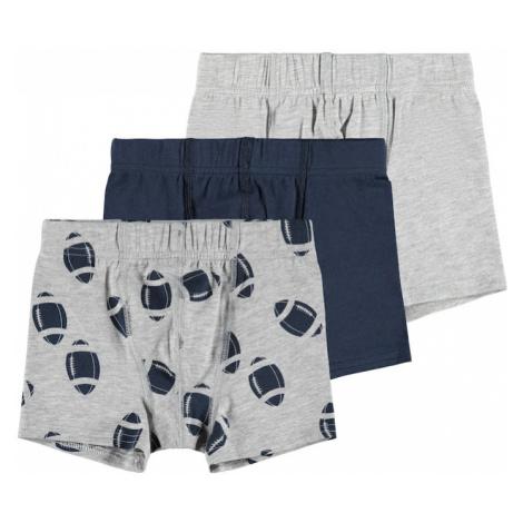 NAME IT Spodní prádlo šedý melír / noční modrá