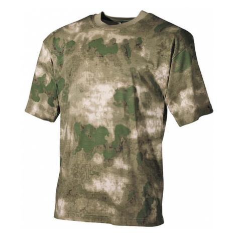 Tričko US T-Shirt HDT camo FG Max Fuchs