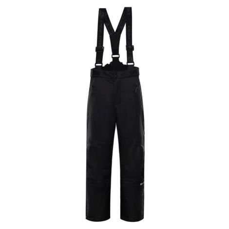 ALPINE PRO ANIKO 3 Dětské lyžařské kalhoty KPAP168990 černá