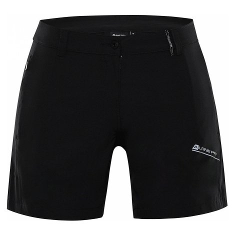 ALPINE PRO CUOMA 3 Dámské šortky LPAR387990PA černá