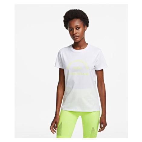 Tričko Karl Lagerfeld Address Logo T-Shirt - Bílá