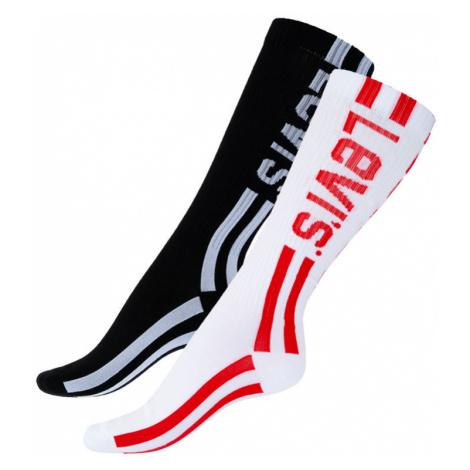 2PACK ponožky Levis vícebarevné (993018001 213) L Levi´s