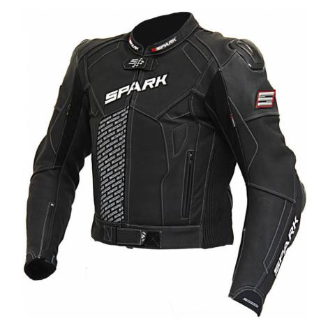 Pánská Kožená Moto Bunda Spark Procomp Černá