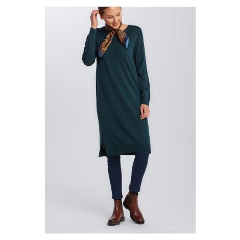 ŠATY GANT MERINO WOOL DRESS