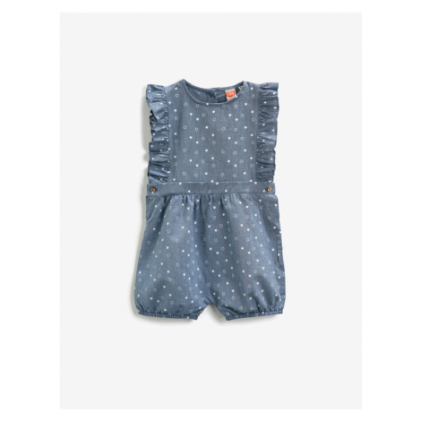 Koton Girl Blue Jumpsuit
