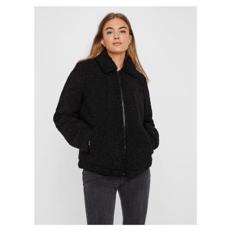 Černá zimní bunda Noisy May Gabi