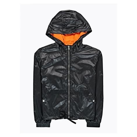 GATE Nylonová bunda s kapucí