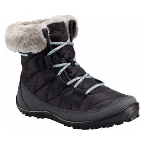 Columbia YOUTH MINX SHORTY OH WP černá - Dětská zimní obuv