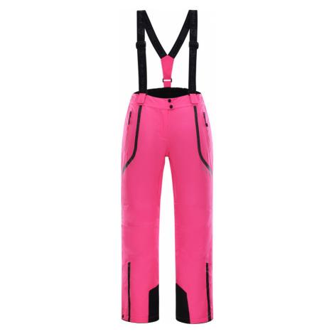 ALPINE PRO NUDDA 2 Dámské lyžařské kalhoty LPAK185452 růžová