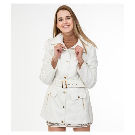 Bílý kabát - GUESS