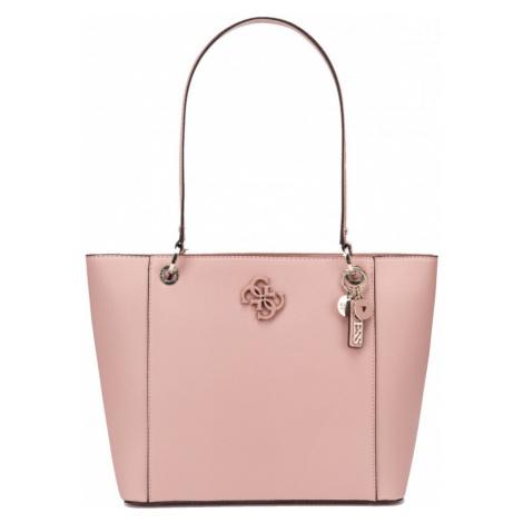Guess GUESS dámská růžová kabelka NOELLE ELITE TOTE